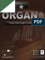 Garritan Classic Pipe Organs Manual