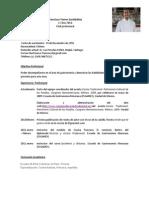 Formato Curriculum