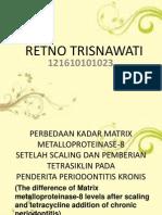 Perbedaan Kadar Matrix Metalloproteinase-8.Pptx Retno