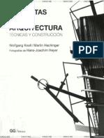 Maquetas de Arquitectura - Tecnicas Y Construccion