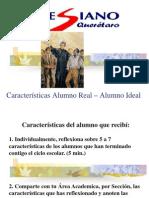 Caract Alumno Real Ideal