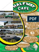 Halfway Cafe Menu