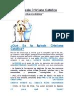 La Iglesia Cristiana Católica.docx
