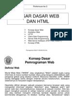 Belajar Dasar Web Dan HTML