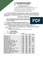 Edital de Tranferências e Retornos 2013-1