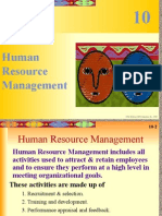 Building Human Resources