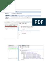 Test Driven Development of MiniDC