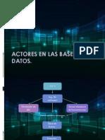 Actores en Las Bases de Datos