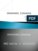 SÍNDROMES  GONADAIS D