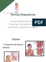 Técnicas Respiratorias Calera