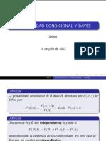 Probabilidad Condicional y Bayes