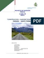 Modelo de Perfil Carretera