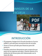 CASO AMIGOS DE LA ESCUELA presentación