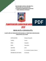 Plan Ciencias Sociales - Geografia y Civica