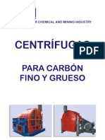 Socmin centrifugas para carbón