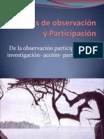 EXPOSICION TECNICAS DE OBSERVACION PARTICIPACIÓN