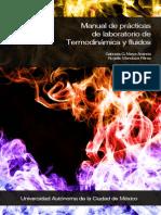 Manual de prácticas de Termodinámica y fluidos