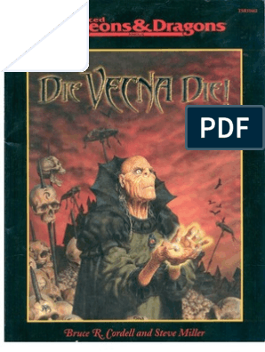 Tsr11662 - Die Vecna Die   Dungeons & Dragons   Leisure