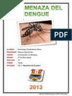 La Amenaza Del Dengue