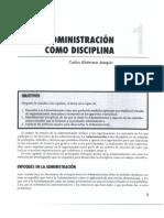 Capitulo 01 La Administracion Como Disciplina 155009