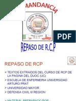 RCP SIN - DESFIBRILADOR