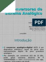 Conversores de Sistema Analógico para Digital