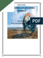 Evidencias Cambio Climatico