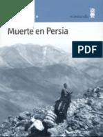 Schwarzenbach Annemarie - Muerte en Persia