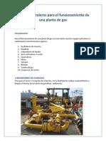 Equipos Petroleros Para El Funcionamiento de Una Planta de Gas