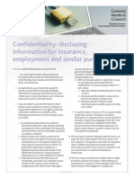 Confidentiality Disclosing for Insurance Revised 2013.PDF 52089380