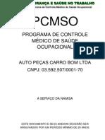 PCMSO-  AUTO PE+çAS CARRO BOM LTDA pdf