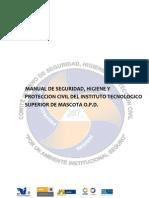 Manual de Seguridad, Higiene y Proteccion Civil ITSMASCOTA (Reparado)
