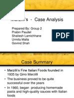 Marzilli's  - SWOT Analysis