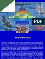 Astronomia y Cosmovision Inca. Unsaac Cusco 2008 (1ra. Parte)