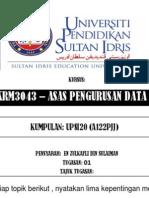 Asas Pengurusan Data