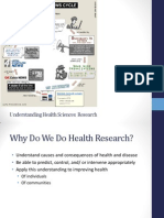 Research in Health Sciences