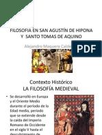 FILOSOFIA EN SAN AGUSTÍN DE HIPONA Y  SANTO