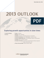 Korea Invest - 2013 OUTLOOK