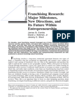 2011 - 0 - Franchising Research - Major Milestones, New Directions, And Its Future Within Entrepreneurship (2)