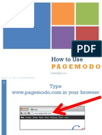 How to Use Pagemodo