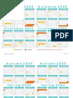 EHL Calendar 2004 - 2006