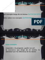 3.5. presentación Autoconcepto y Autoestima