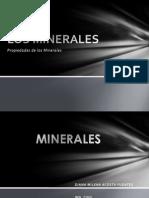 Propiedades de Los Minerales Geologia