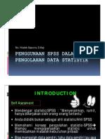 PEngenalan Penggunaan SPPS Dalam Pengolahan Data Statistik