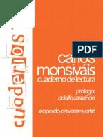 Carlos Monsivais L Cervantes-Ortiz Lupa
