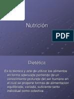Nutrición dieta-porción-ración-reparto calórico