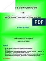 Análisis de Información. MCS