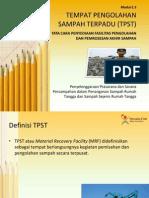 TPST (Tempat Pengolahan Sampah Terpadu)