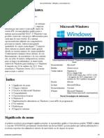 Microsoft Windows – Wikipédia, a enciclopédia livre