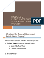 Module 2 - Public Water Supply
